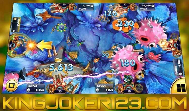Multiplayer Tembak Ikan Online